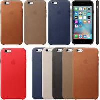 For Apple iPhone 7/7 Plus 6s/6s Plus Genuine Original PU Leather Slim Case Cover