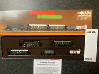 Marklin spur z scale/gauge OBB Passenger Train with Freight.