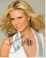 HEIDI KLUM Autographed Signed Photograph - To Pepper