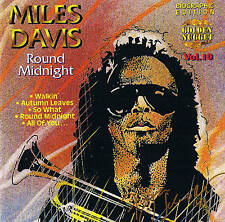 "MILES DAVIS ""Round Midnight"" World-Jazz CD NEU & OVP Cosmus DSB"