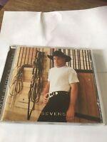 GARTH BROOKS - SEVENS - CD ALBUM - IN ANOTHERS EYES / LONGNECK BOTTLE +