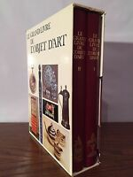 Le grand livre de l'objet d'art - Colombe Samoyault-Verlet - 2 volumes