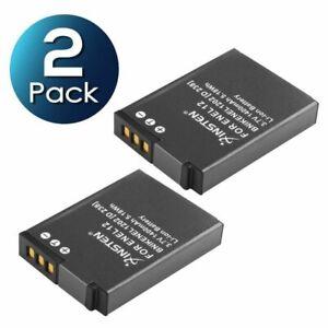 2 pc EN-EL12 Li-ion battery For Nikon CoolPix AW100