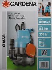 GARDENA 1777-20 CLASSIC TAUCHPUMPE 6000 PUMPE, NEU