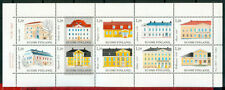 Mint Never Hinged/MNH Architecture Finnish Single Stamps