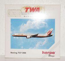 Herpa Wings TWA Boeing 757-200 1:500 503761