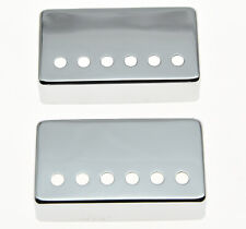 KAISH 2pcs Humbucker Guitar Pickup Covers 49.2/52mm Pole Spacing Fits Gibson