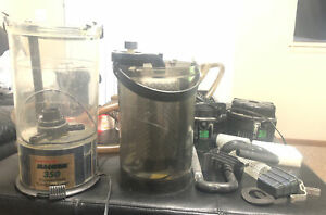 Marineland Magnum 350 Canister Filter With Extras And 2 Motors!