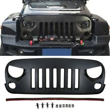 New Design TRANSFORMER Style Front Grill Grille For Jeep Wrangler 2007-2017 JK