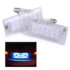 Neu 2x 18 LED Nummernschild Kennzeichenbeleuchtung für BMW X5 E53 X3 E83 00-15