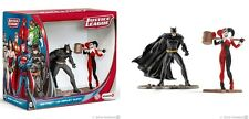 DC COMICS JUSTICE LEAGUE BATMAN vs HARLEY QUINN SCENARY PACK SCHLEICH 22514 NEW