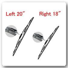 "2 Kits 20"" & 18"" V-PRO CRYSTAL Wiper Blades : Fits  Mazda Nissan Ford Mercury &"