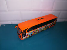 04.11.18.7 Bus car autocar Mercedes travego las vegas Majorette 27cm kids mate
