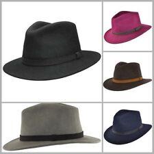 Chapeaux noirs pour homme en 100% laine