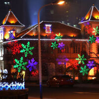 projecteur laser Noël LED allume décoration jardin extérieure RVB 12 modèles