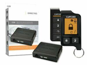 Clifford Matrix 4706X Super Code 2-Way Responder LC3 Remote Start System LCD Rem