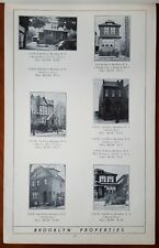 Brooklyn Manhattan Westchester County Apartment Bldg Homes 1940 Sales Prospectus