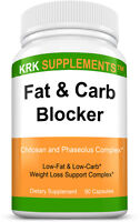 Fat and Carb Blocker Weight Loss Complex xp Appetite Suppressant Burn Low Keto