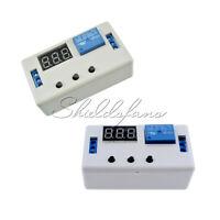 LED Automation Delay Timer Control Relay Module PCB Board White Case 12V/24V