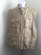 ExOfficio Travelwear Vented Vest Fishing Photography 13 Pockets Outdoors Mens XL