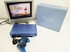 Sony Playstation 2 Console Aqua Boxed Japan Import