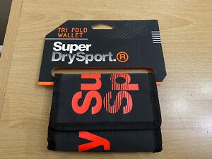 Superdry Unique Sample Rambler Wallet Black BNWT