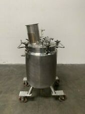 Lee 100 Liter Stainless Steel Jacketed Reactor With Agitator 30 Psi