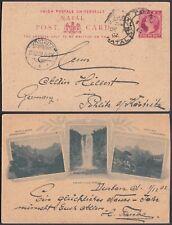 Natal 1902 - Postal stationary to Kostritz-Germany.......  (6G-20737) MV-1296