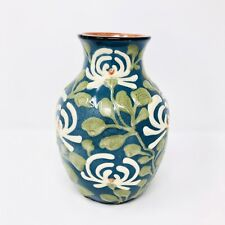 Vintage Jugendstil Art Nouveau Vase 1920s Polychrome Glaze Germany Marked 142