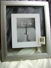 Flower W/Vase Picture Silver & Glass Frames Approx 12 x 12 Macy's