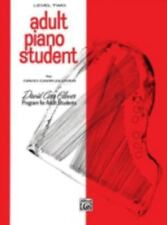 Adult Piano Student  Level 2 (David Carr Glover Adult Library)-ExLibrary