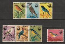 kompletter Satz  Paraguay  Vögel , Vogel , birds , pajaro