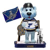 Louie St. Louis Blues Gloria Gloria Stanley Cup Champions Bobblehead NHL