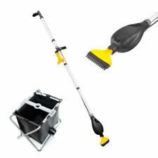 HOZELOCK POND VAC VACUUM CLEANER AND COLLECTION BASKET WATER SILT HOOVER REMOVER