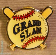 Grand Slam California Lottery Hat Lapel Pin Button Brooch Badge Pinback