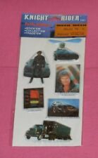 vintage KNIGHT RIDER PUFFY STICKERS new/sealed truck helicopter