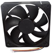 Ventilateur pour boîtier d'ordinateur PC 12V 120x120x25mm 183,83m3/h 3100rpm