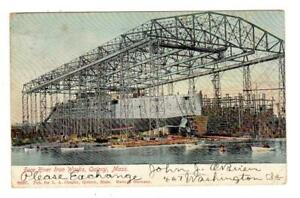MA - QUINCY MASSACHUSETTS 1906 Postcard FORE RIVER IRON WORKS