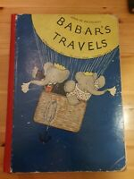 Babars Travels 1935 First Edition Methuen Jean De Brunhoff
