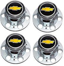 NEW 6-LUG CHEVY 1500 SILVERADO SUBURBAN BLAZER Wheel Center Cap SET w/ Screws