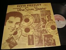 ELVIS PRESLEY<>THE SUN YEARS<>LP Vinyl~Canada Pressing<>QUALITY SUN 1001
