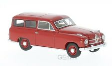 NEO 47110 - Borgward Hansa 1500 break rouge - 1951    1/43
