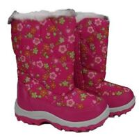 Infants Kids Boys Girls Winter Snow Ski Mucker Boots Pink/grey/khaki/green Sizes