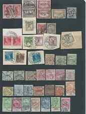 HUNGARY FINE LOT EARLY POSTMARKS SEE BOTH SCANS NICE!