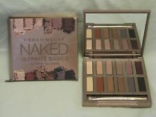 Urban Decay 'Naked Ultimate Basics' Eye Shadow Palette NIB 12 Shades & Brush