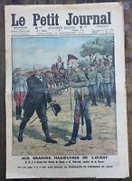 Le Petit Journal N°1141 du 29/09/1912 Le Grand Duc Nicolas de RUSSIE
