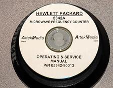 HP 5342A  Operating & Service  Manual