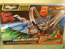 H/W  Speed Racer Fuji Helexicon Track Set Exclusive wild water Mach 6 Included !