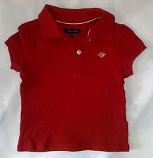 Tommy Hilfiger! schickes Polo Shirt rot TOP! Gr. 9-12 Monate