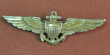 US WW2 WWII Amico Navy USN Sterling Wings Pin Badge